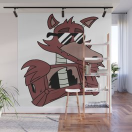 He's The Captain! Wall Mural