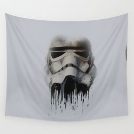 Trooper Face Wall Tapestry