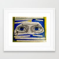 the great gatsby Framed Art Prints featuring Gatsby by Jstone14