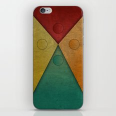 Letter tie iPhone & iPod Skin