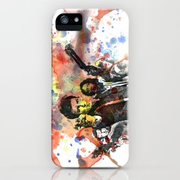 Fire Fly Poster iPhone Case