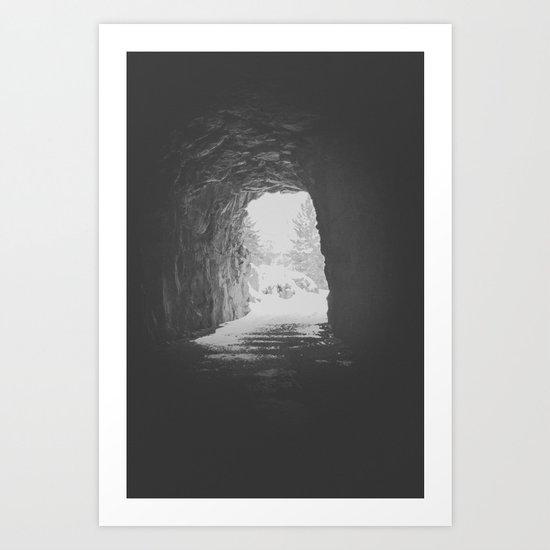 Myra Canyon Cave II Art Print