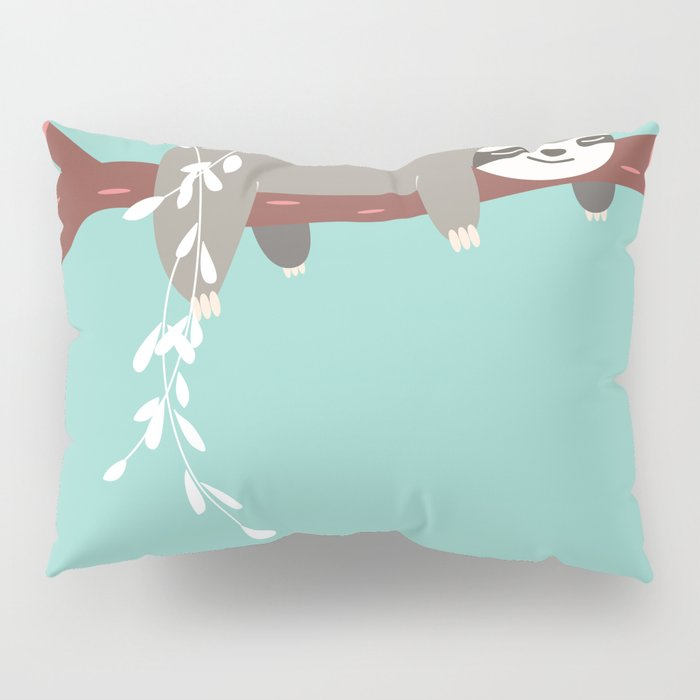 Sloth card - just 5 more minutes Pillow Sham
