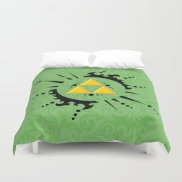 Triforce Zelda Duvet Cover