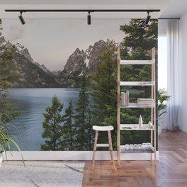 Grand Teton Wanderlust Lake Adventure - Nature Photography Wall Mural