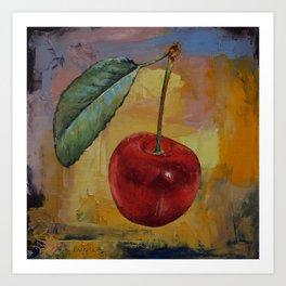 Vintage Cherry Art Print