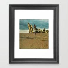 Sandsnakes Framed Art Print