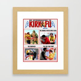 An Introduction to Kirk - Fu Framed Art Print
