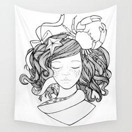Mermaid Darling Wall Tapestry