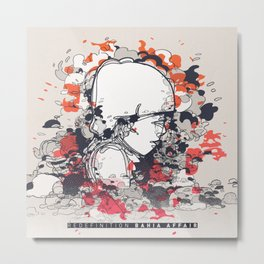 Bahia Affair Cover Art Metal Print