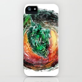 The Cosmic Heart iPhone Case