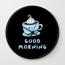 Coffee - Good Morning Wall Clock