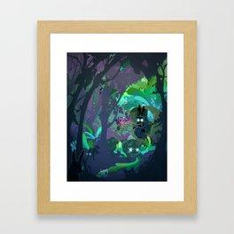 Bunny Aint No Kind Of Rider Framed Art Print