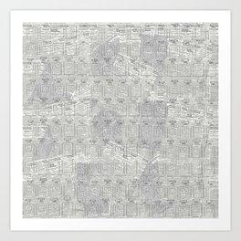 Brand Pattern Art Print