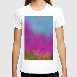 Wildflowers Mod Impressionism T-shirt