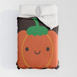 Happy Halloween Pumpkin Duvet Cover