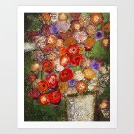 Spring in Filoli Art Print