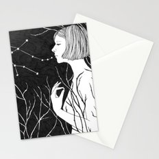 Under Stars Stationery Cards