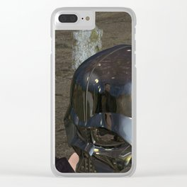War Stars: Yorick or Vader Clear iPhone Case