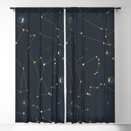 Orion and the Pleiades Blackout Curtain