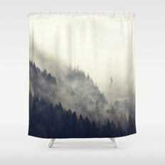 Forest Moon Shower Curtain