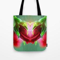 Heart of Roses Tote Bag