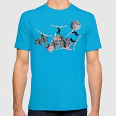 Magical Attack Teal Mens Fitted Tee MEDIUM