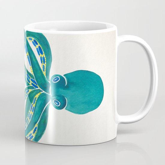 Octopus Watercolor Mug