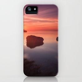 Loughor Estuary sunset iPhone Case