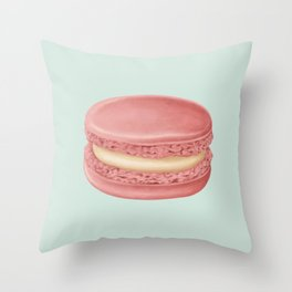 French Macaroon Throw Pillow