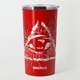 Under His Eye Travel Mug