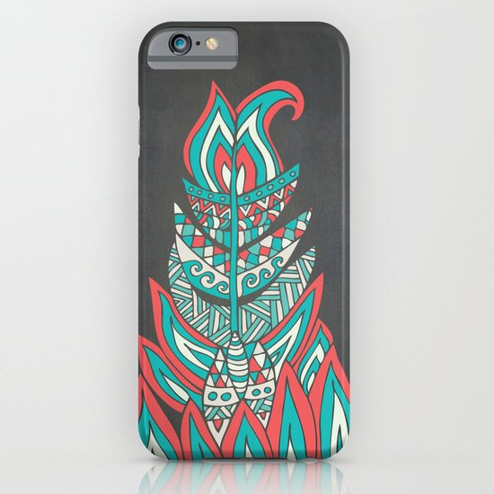 A Romantic Feather iPhone & iPod Case