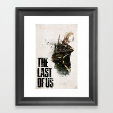 THE LAST OF US ELLIE  Framed Art Print