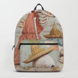 Mexican Skulls 3 Backpack