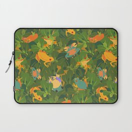 Froggy forest Laptop Sleeve