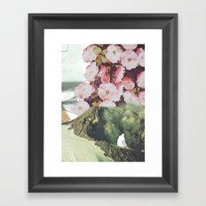 Au bord du vide Framed Art Print