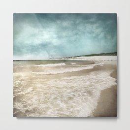 Tarifa beach at summer Metal Print