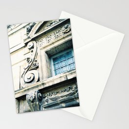 Windows and Faces in Montmarte Stationery Cards
