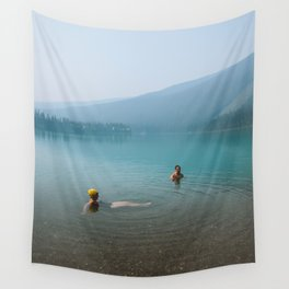 Kind Strangers in Banff Wall Tapestry