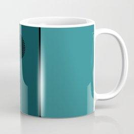 Om Blue Coffee Mug