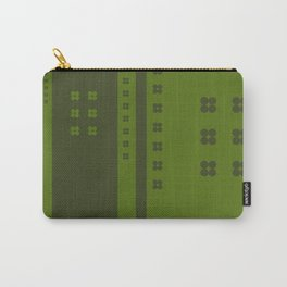 Green Dots and Lines Carry-All Pouch