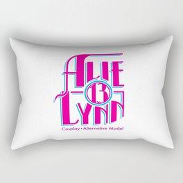 Alie_Lynn Logo(Magenta/Cyan) Rectangular Pillow
