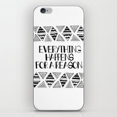 Triangles Saying 1 iPhone Skin