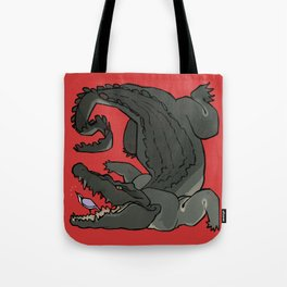 The Plover and the Gator Tote Bag