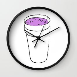 Double Cup Wall Clock