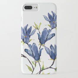 Blue Flowers 3 iPhone Case