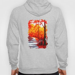 Tardis Art Autumn Hoody
