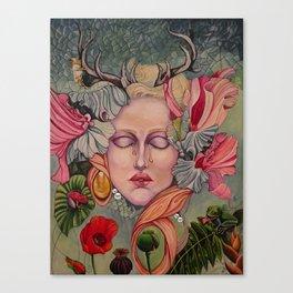Natures Lament, Any Regrets? Canvas Print