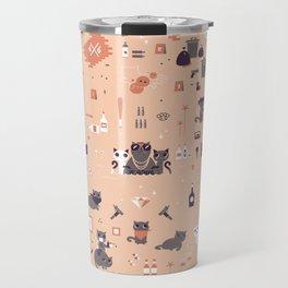 Bad cats Travel Mug