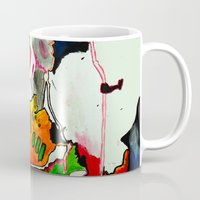 joy Mugs featuring Joy by Aaron Carberry